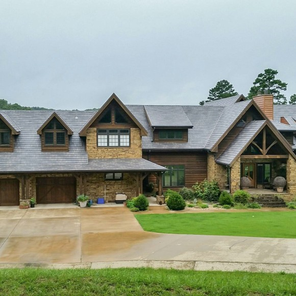 KasselWood is available in a beautiful palette of colors utilizing PPG's Duranar coating system. These unique two-tone Cedar colors lead the industry in terms of special beauty. The Kynar 500® or Hylar 5000® PVDF resin-based finishes carry a fade and chalk resistance warranty that ensures your roof will remain vibrant for decades.