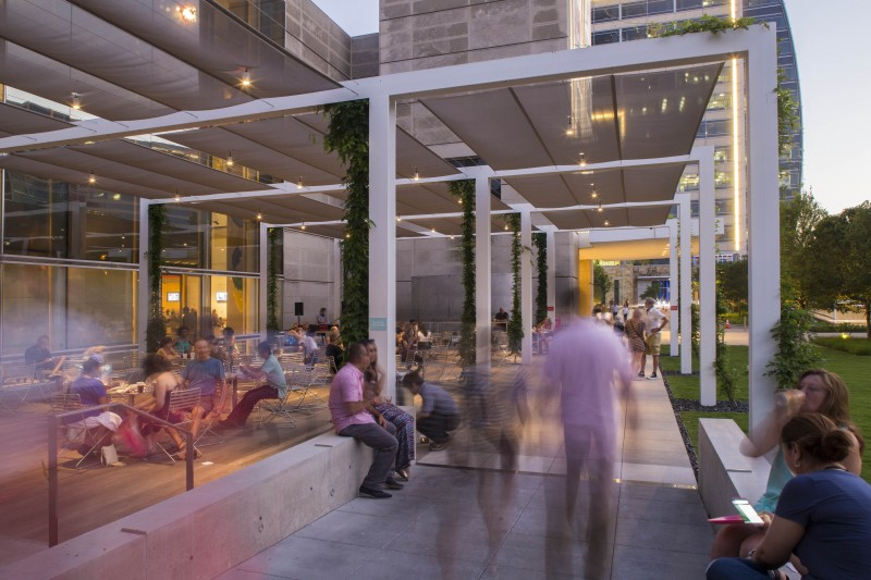 DMA Eagle Family Plaza | Joint Venture with Hocker Design Group | Dallas, Texas