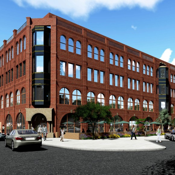 College Mill. Multi-Use Condos and Retail in Lewisville.