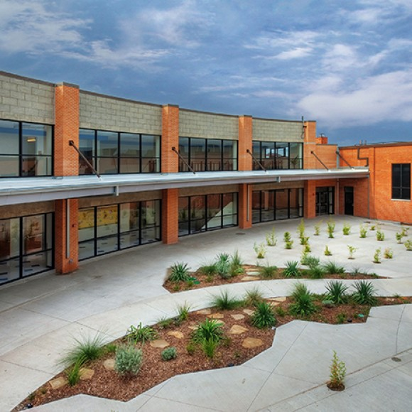 W.A. Blair Elementary School | Dallas ISD. 89,500 SF Renovation and Expansion