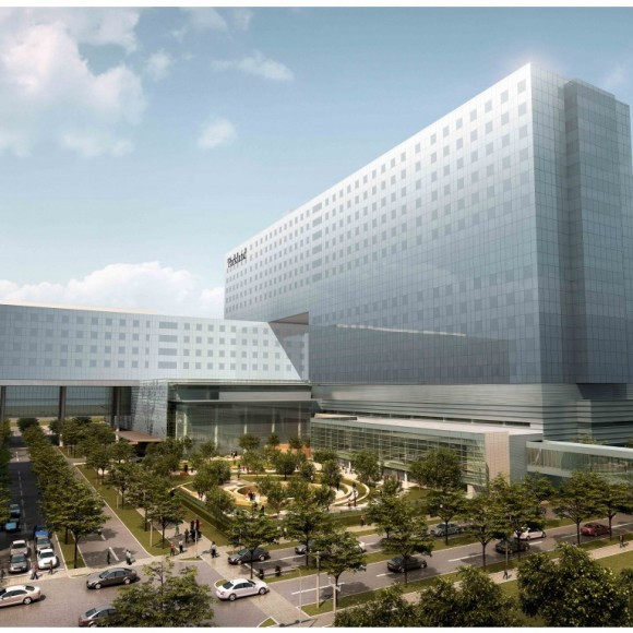 Parkland Health Hospital System, New Replacement Hospital - Dallas, Texas | AG&E Structural Engenuity served as the prime structural engineer for the new $740 Million replacement hospital. Corgan|HDR