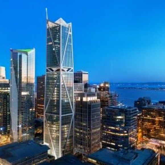"""181 Fremont is the tallest mixed-use building in San Francisco and a new landmark in the city's skyline. After recognizing that the seismic performance objectives in modern building codes did not align with its goals, the building owner chose to pursue an innovative, resilience-based design to deliver """"beyond code"""" seismic resilience. 2019 IDEAS2 Award Winner"""