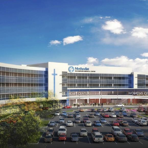 Methodist Richardson Medical Center Bush/Renner Hospital - Richardson, TX Perkins+Will