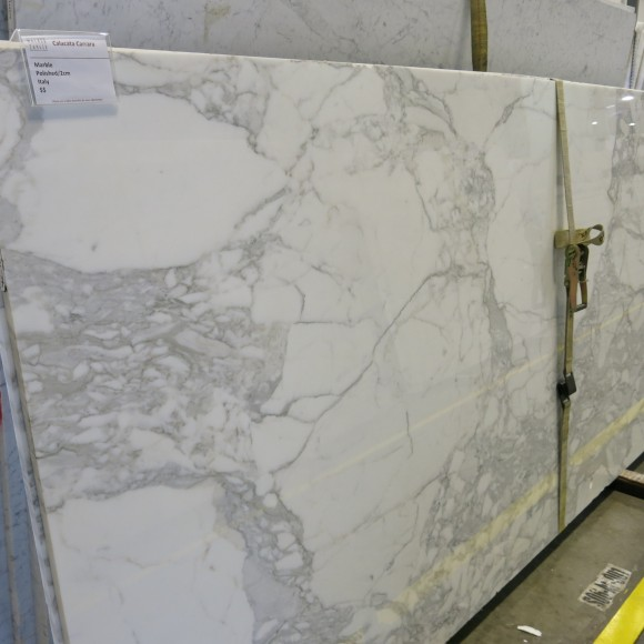 Calacata Carrara 2cm Polished Marble Slab