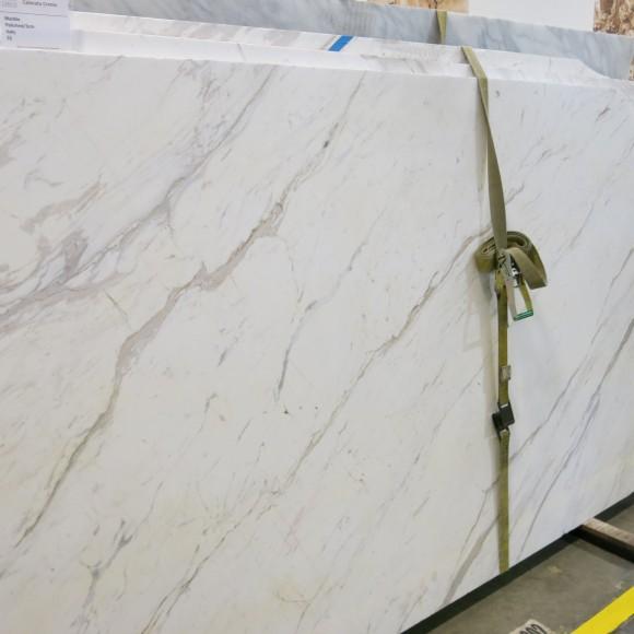 Calacata Cremo 3cm Polished Marble Slab
