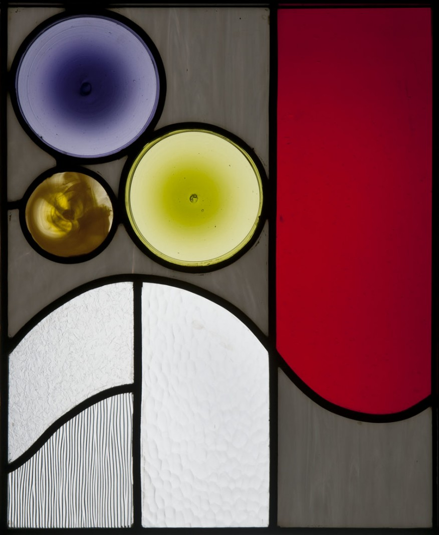Stained glass panel -
