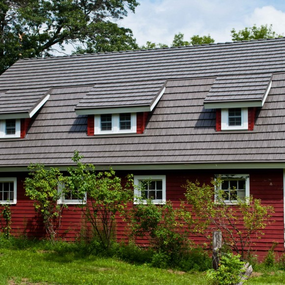 A KasselShake steel roof protects and preserves your home so you can spend your time and resources on what matters most.  KasselShake's deep grooves give the appearance of hand-split wood shake in a wide array of vibrant color options that will enhance the splendor of any home.