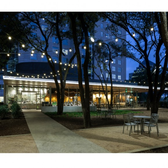 Shack Shack in Uptown Dallas at the Crescent Photo courtesy of the Beck Group