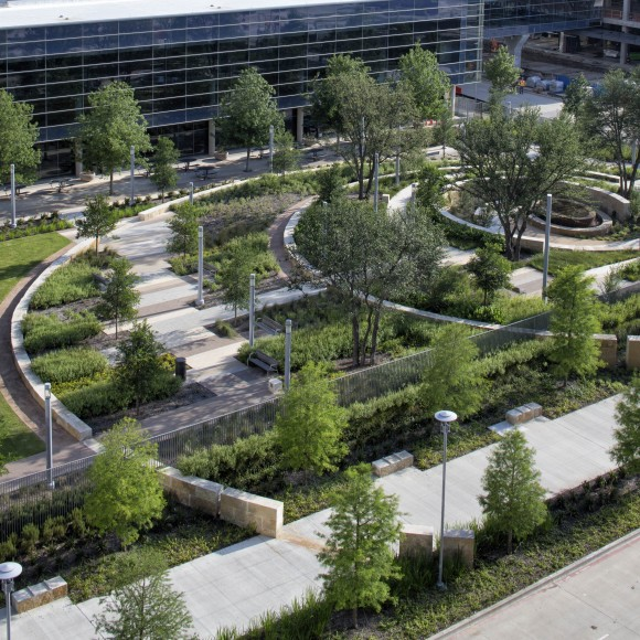 New Parkland Hospital | Joint Venture with Ten Eyck Landscape Architects | Dallas, Texas