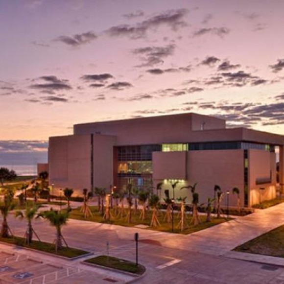 Texas A&M Corpus Christi School of Business | The College of Business at Texas A&M University Corpus Christi integrates carefully into the campus providing a unique identity for the business school.  The project includes classrooms, computer labs, executive education, business incubators and faculty and administrative offices.