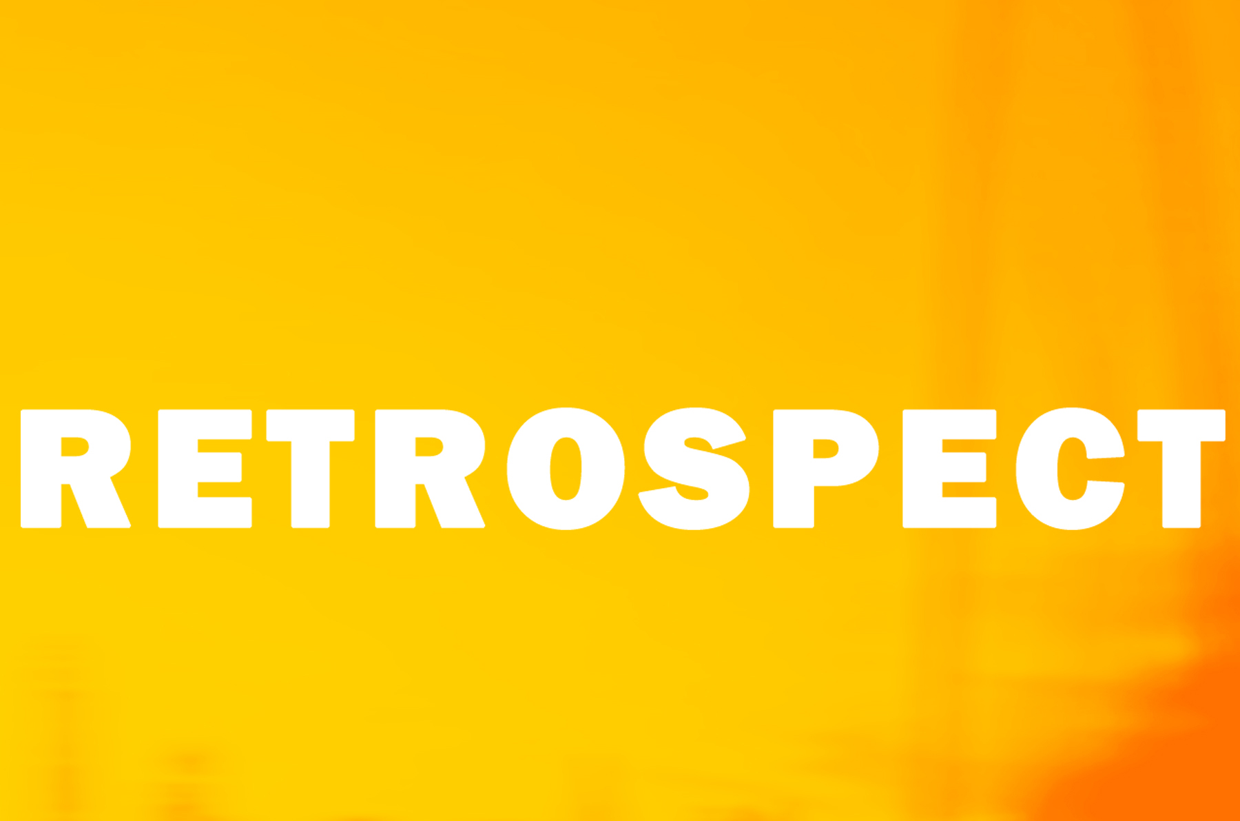 2013 RETROSPECT Graphic Competition Winner