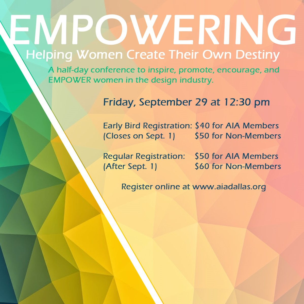 Women in Architecture: EMPOWERING Conference
