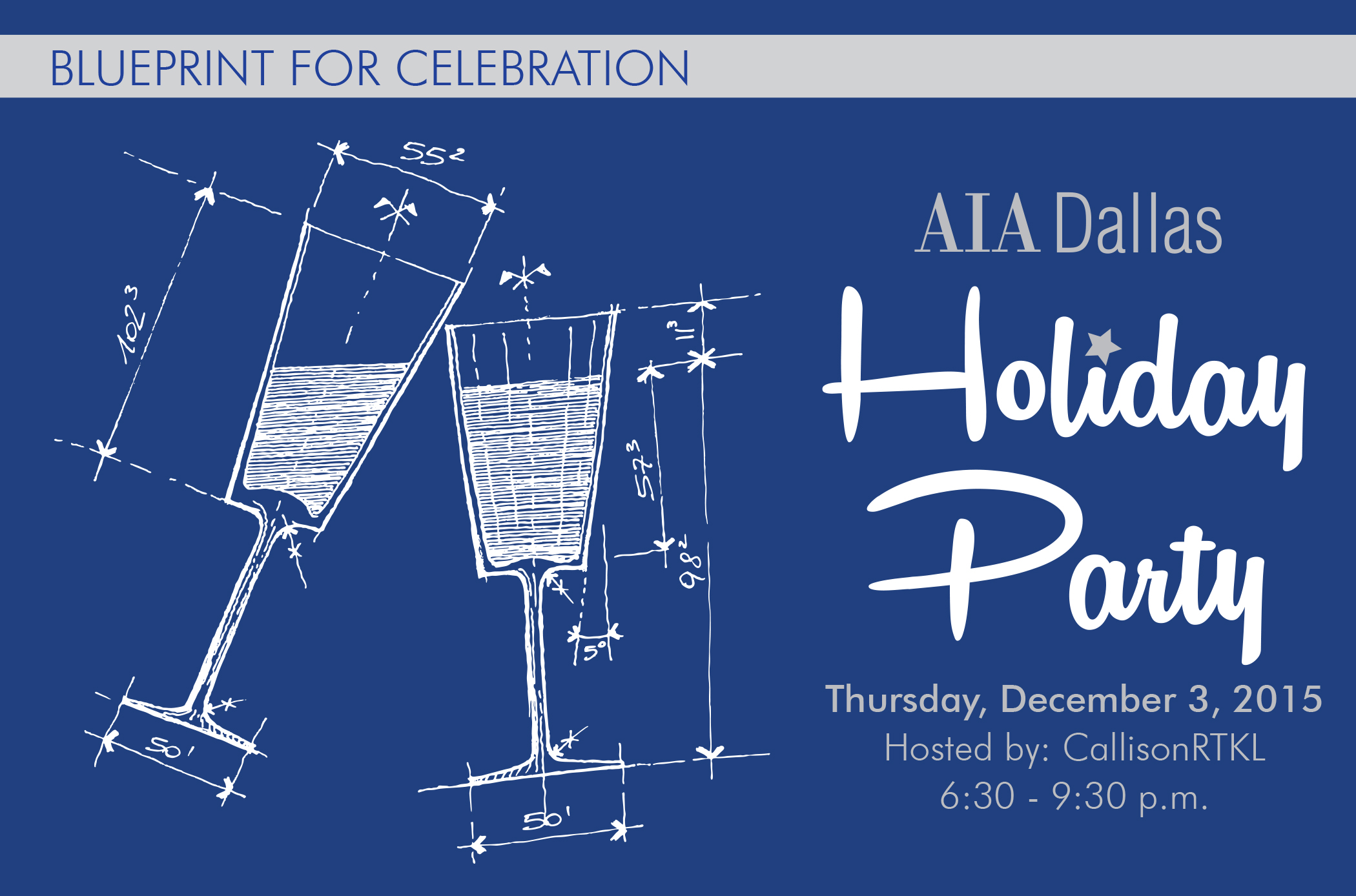 Aia dallas holiday party chapter awards aia dallas join aia dallas as we celebrate and look back on 2015 festivities will begin with the chapter awards and annual presidential passing of the hat malvernweather Images
