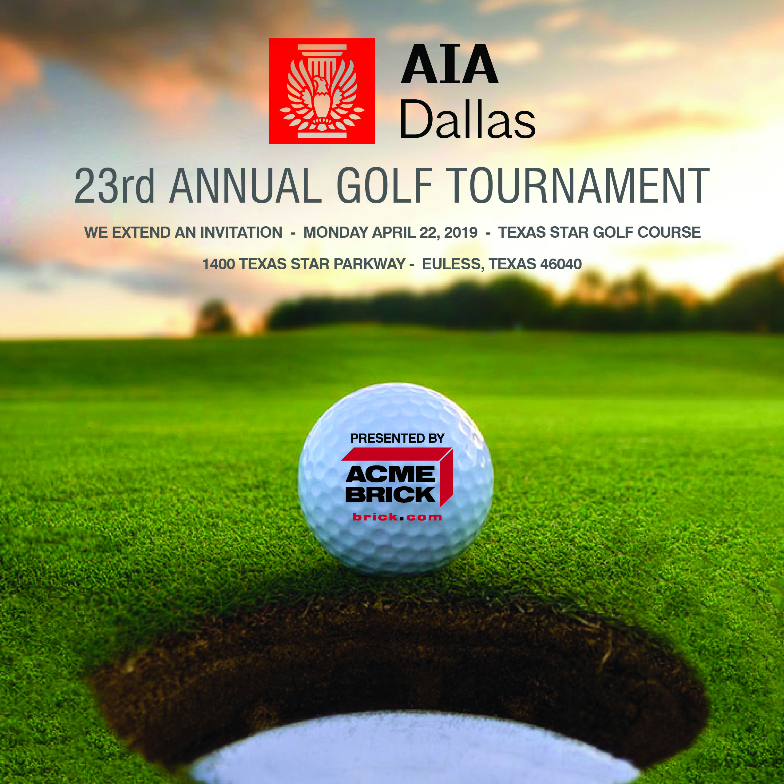 23rd Annual AIA Dallas Golf Tournament