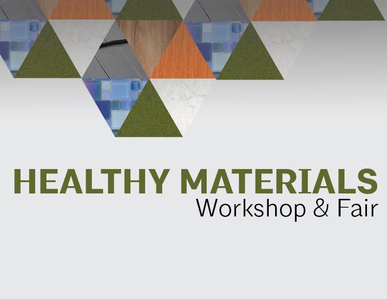 Healthy Materials Workshop & Fair