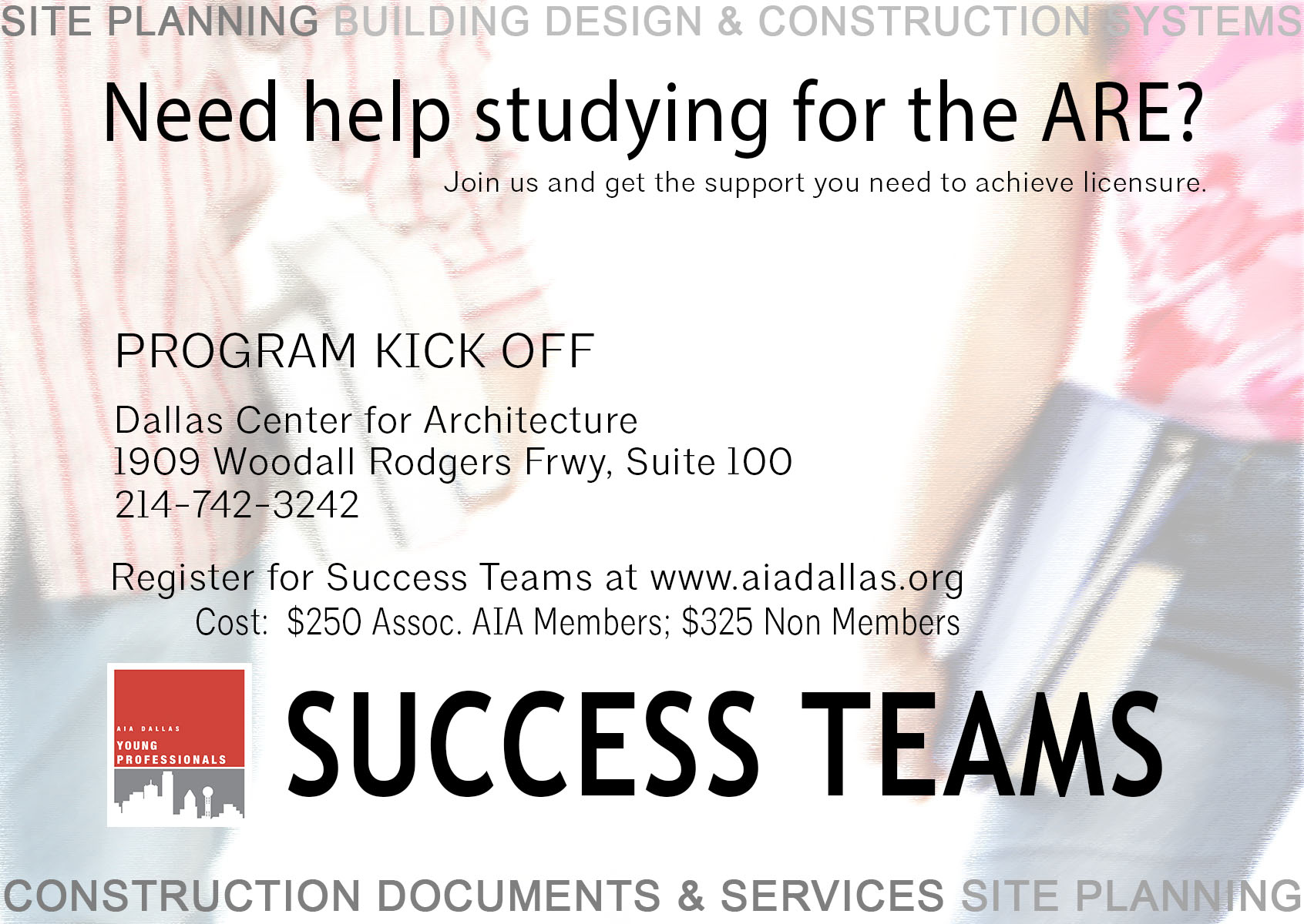 Success Teams Kick Off Flyer Updated