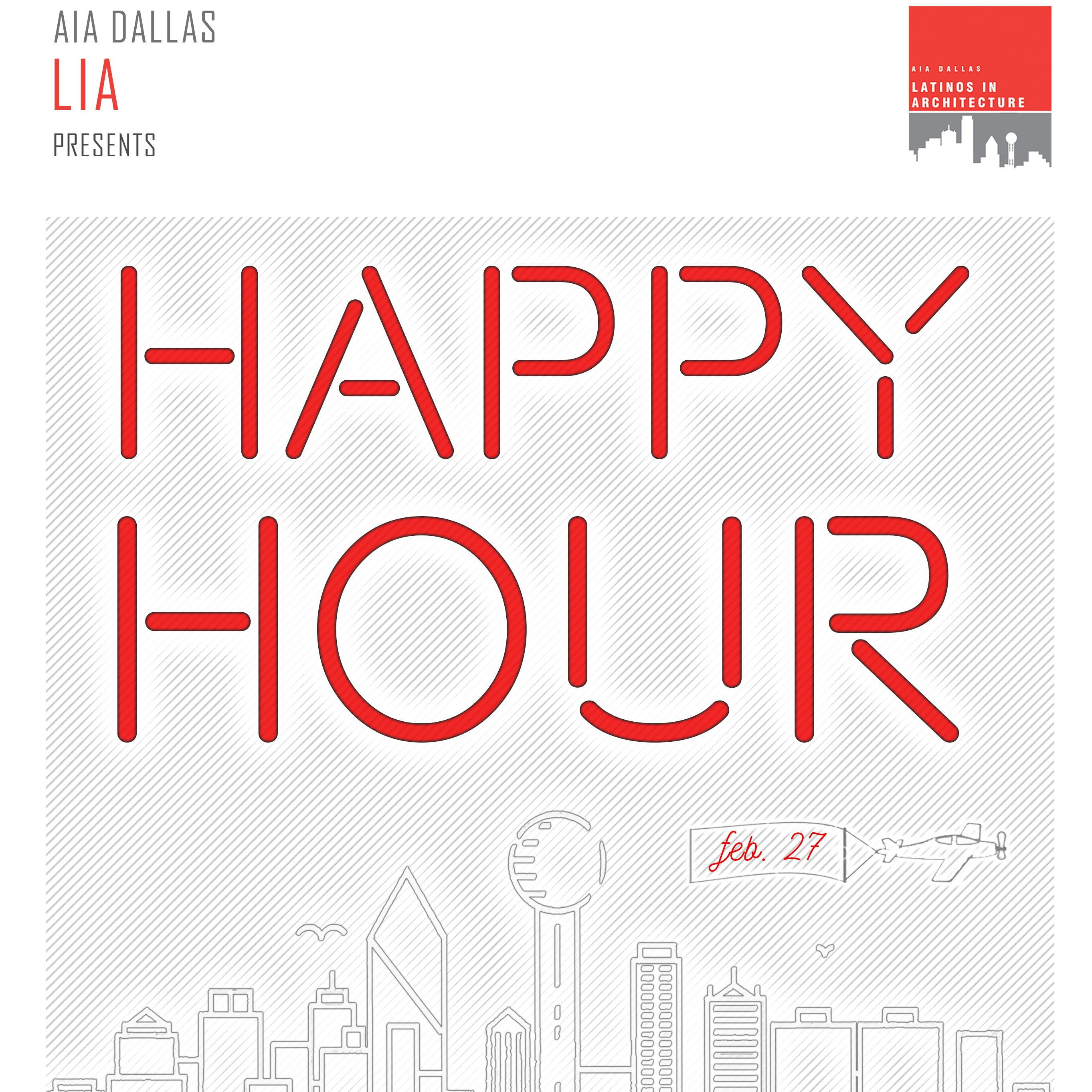 Latinos in Architecture Happy Hour