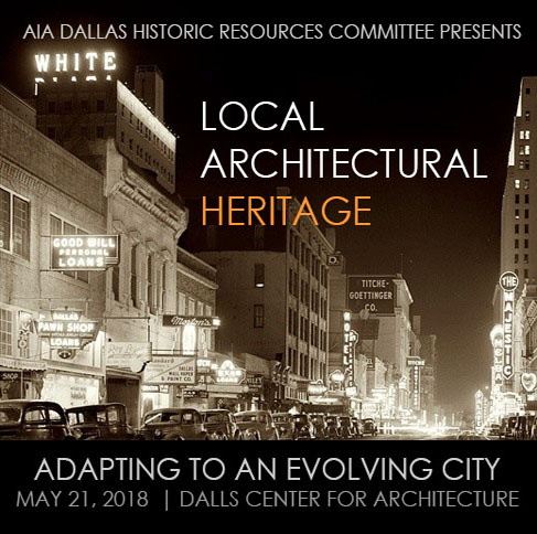 Chapter Meeting: The Value of our Architectural Inheritance