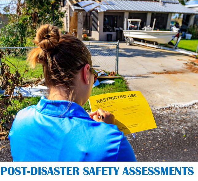 Performing Safety Assessments after a Disaster