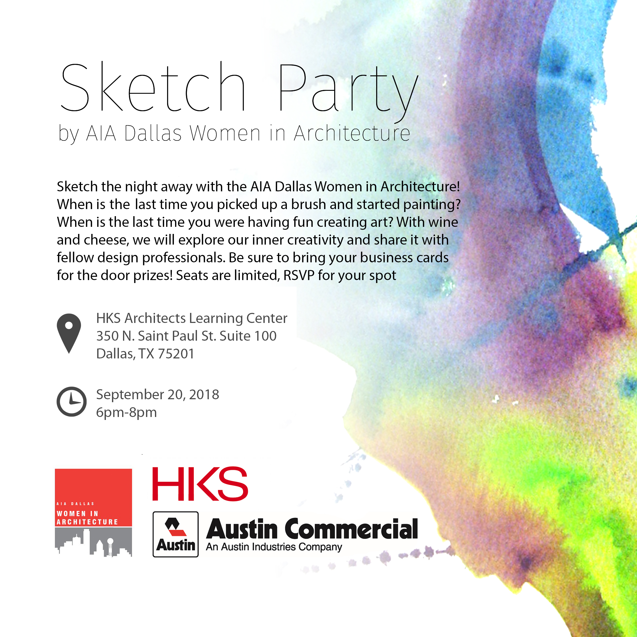 Women in Architecture Sketch Party