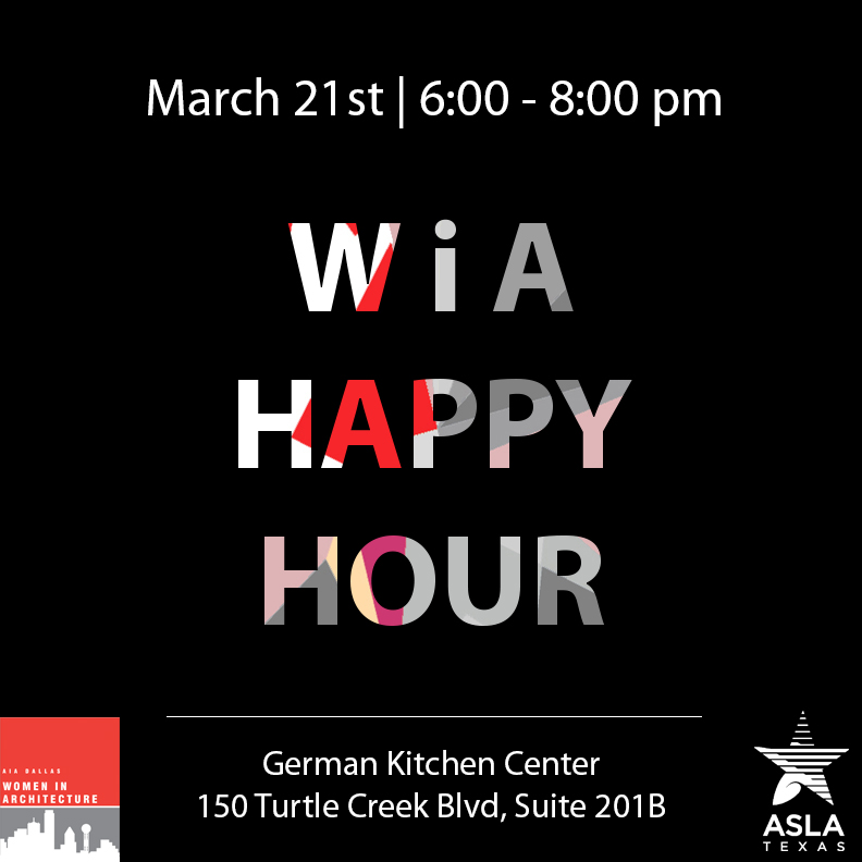 Women in Architecture Happy Hour
