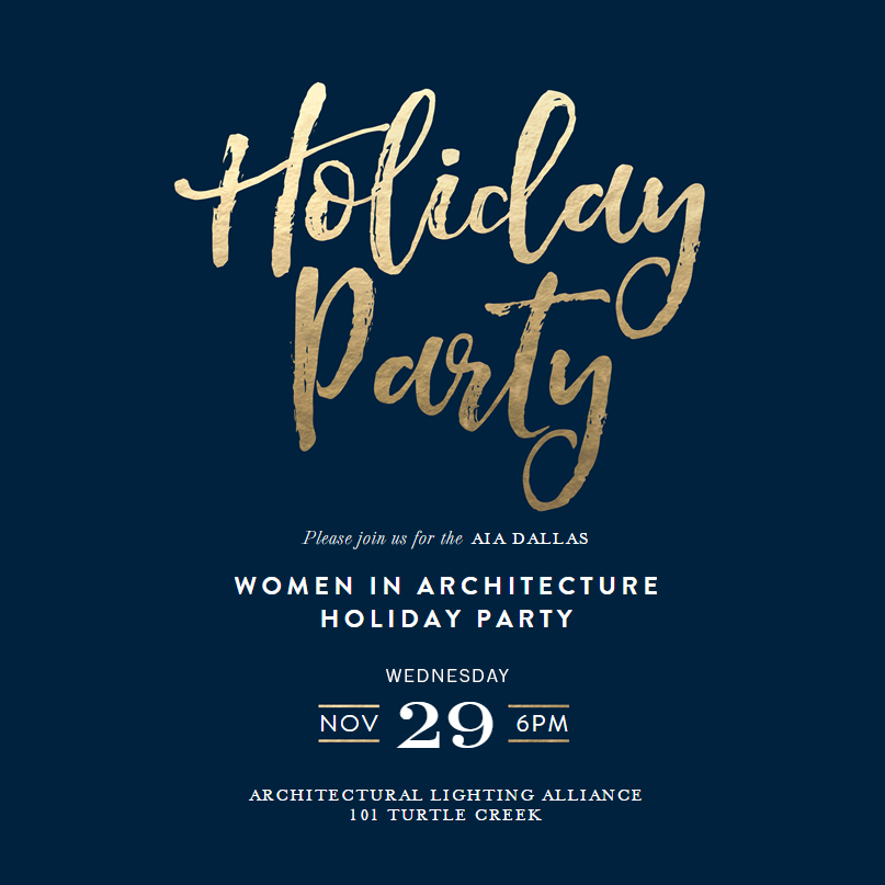 Women in Architecture Holiday Party