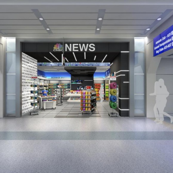 CNBC News - Retail Space at DFW Airport at Terminal A