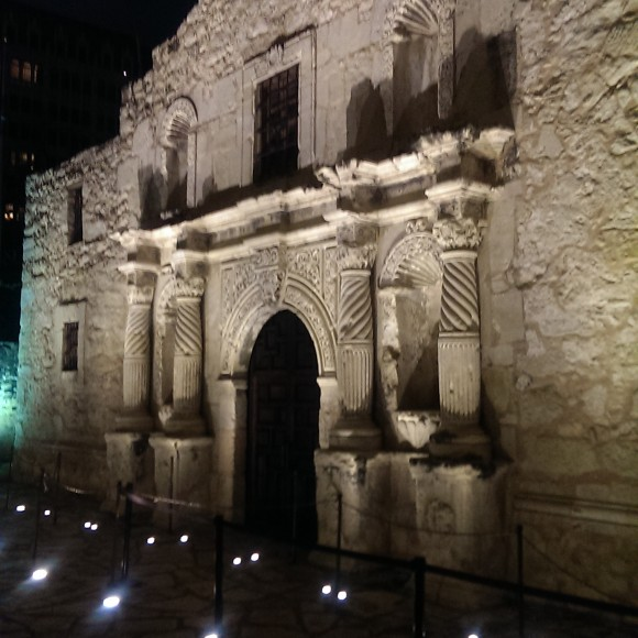 The Alamo - The addition of digital, interactive signage.