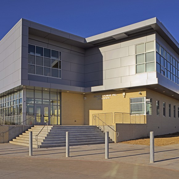 Robert T. Hill Middle School | Dallas ISD. 116,000 SF renovation and expansion.
