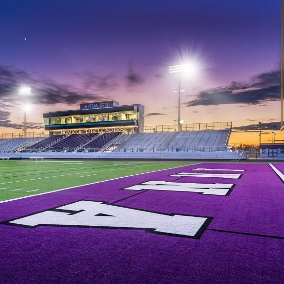Coyote Football Stadium, Anna Independent School District.