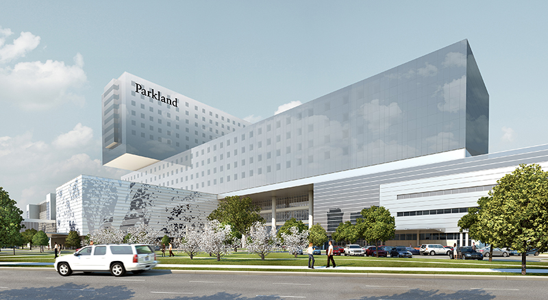 The New Parkland Hospital, Dallas, Texas Images