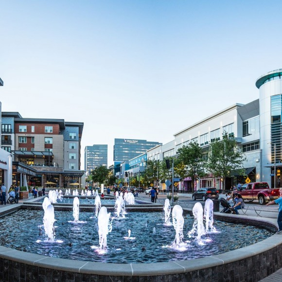 Legacy West, in Plano, is a walkable neighborhood of residential, boutique office, dining, retail, and entertainment establishments composing a forward-looking urban experience where one can live, work, and play within a vertically integrated mix of uses.