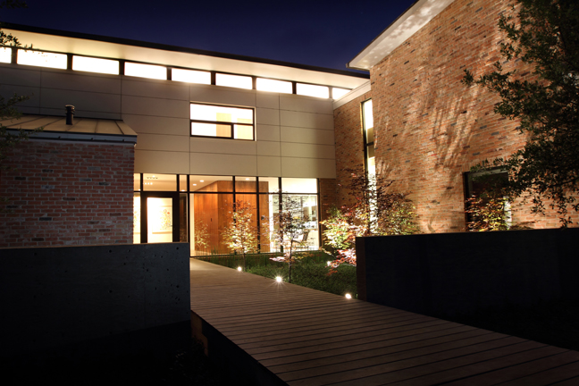 "The ""Before House"" successfully delivers the client's taste for modernism while fitting into a Dallas Conservation Disctrict.  Adundant natural light, SIPs roof panels, spray-in foam insulation, and concrete floors create an inviting, energy efficient and east to maintain residence. - Matt Callahan Photography"