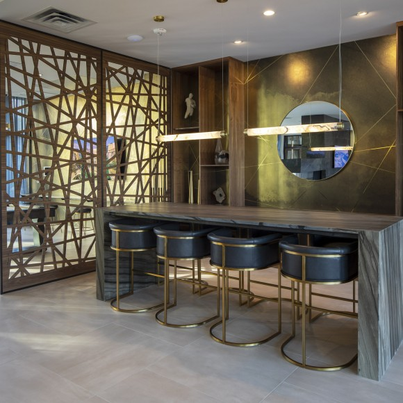 Parkway 25 is a luxury apartment building in St. Louis Park with a beautiful, modern look. It has been built brand-new, from the ground up, to provide a high-end living experience. DJR Architecture & BKV Group