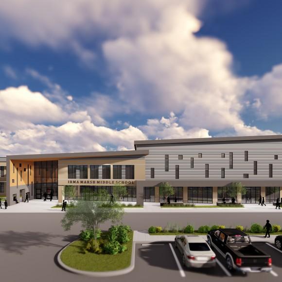 Irma Marsh Middle School, Castleberry Independent School District.