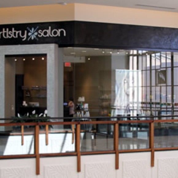 Artistry Salon located in Willow Bend Mall, Plano, TX