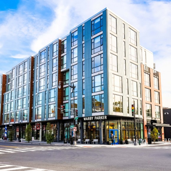 The Shay, a significant, high-profile project comprised of two buildings, is a 245-unit apartment community designed for modern, vibrant living in Shaw - Washington, D.C.'s most exciting neighborhood. These mixed-use buildings feature ample retail spaces along the streets to further activate the urban activity.