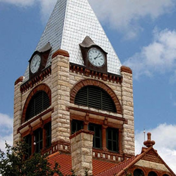 Restoration of the Erath County Courthouse.