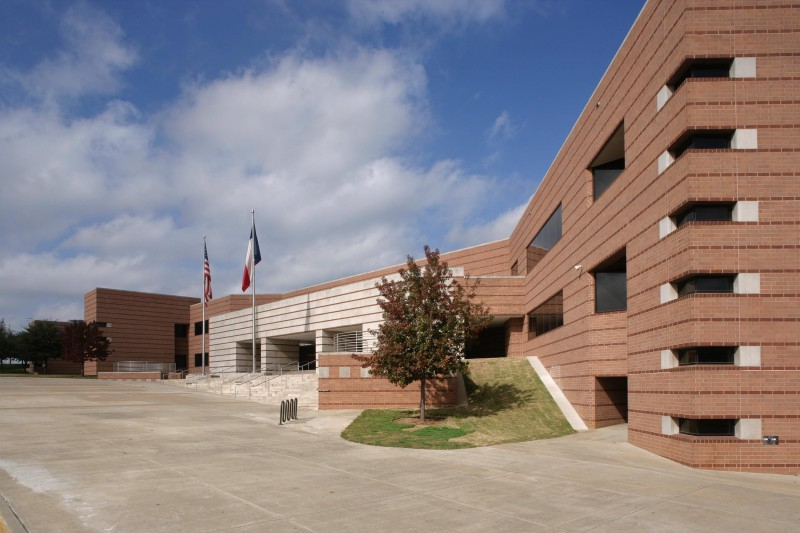 Yvonne E. Townview Center - Dallas ISD Photograph by Michael Lyon