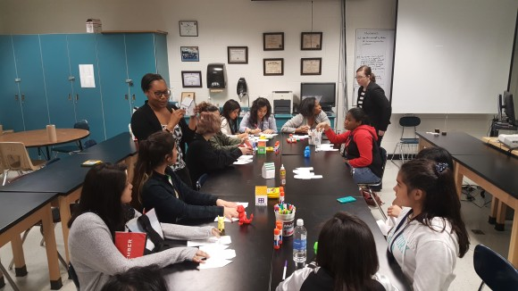 WiA Members volunteering and sharing their passion for Design & Architecture