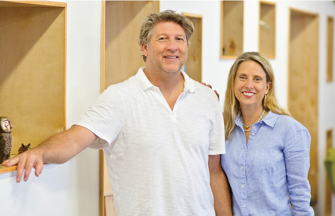 Profile: Christy Coltrin and Brad Oldham