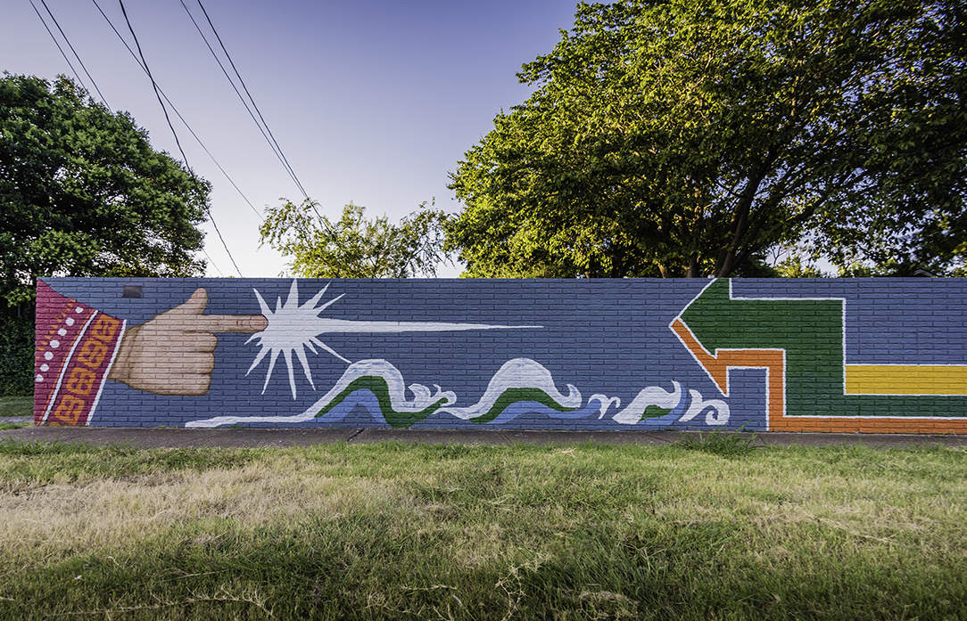 Public Arts: The Wall at Forest Lane - AIA Dallas