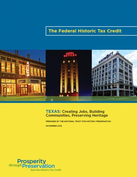 TEXAS Creating Jobs_Building Communities_Preserving History