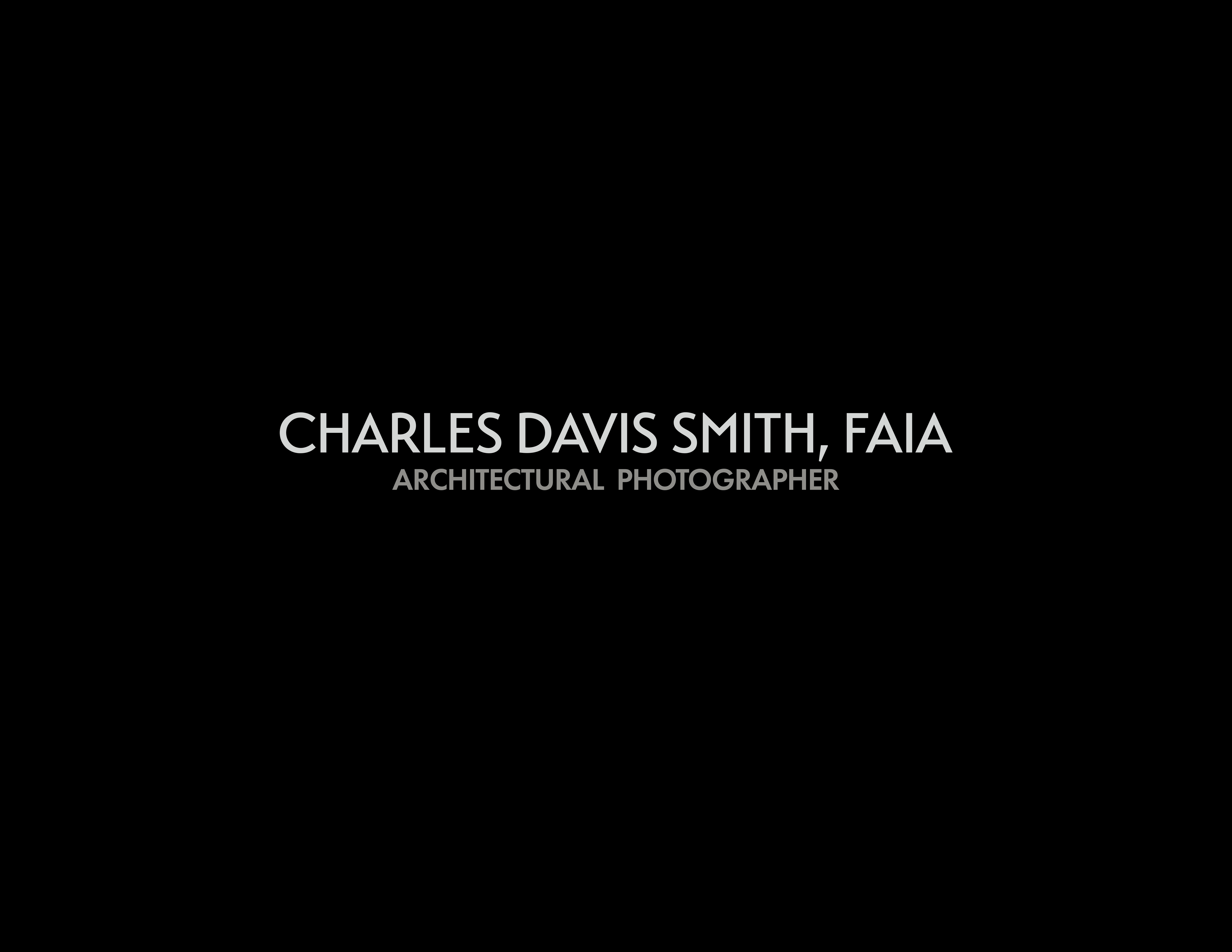 Design Awards: Charles Davis Smith, FAIA logo