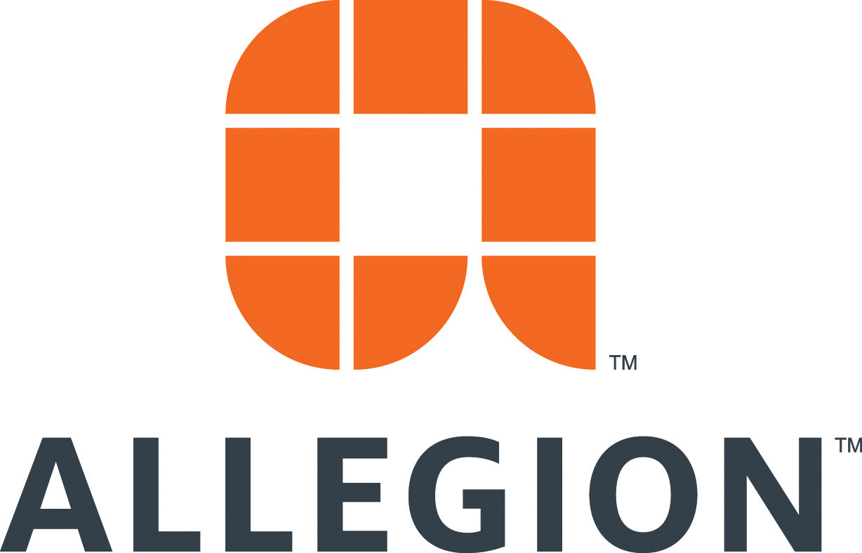 CELEBRATE ARCHITECTURE - Allegion logo
