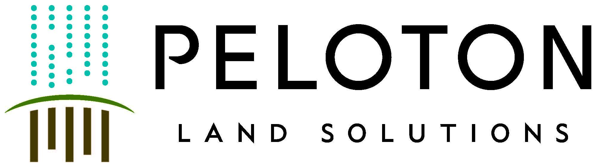Bark + Build: Peloton Land Solutions logo